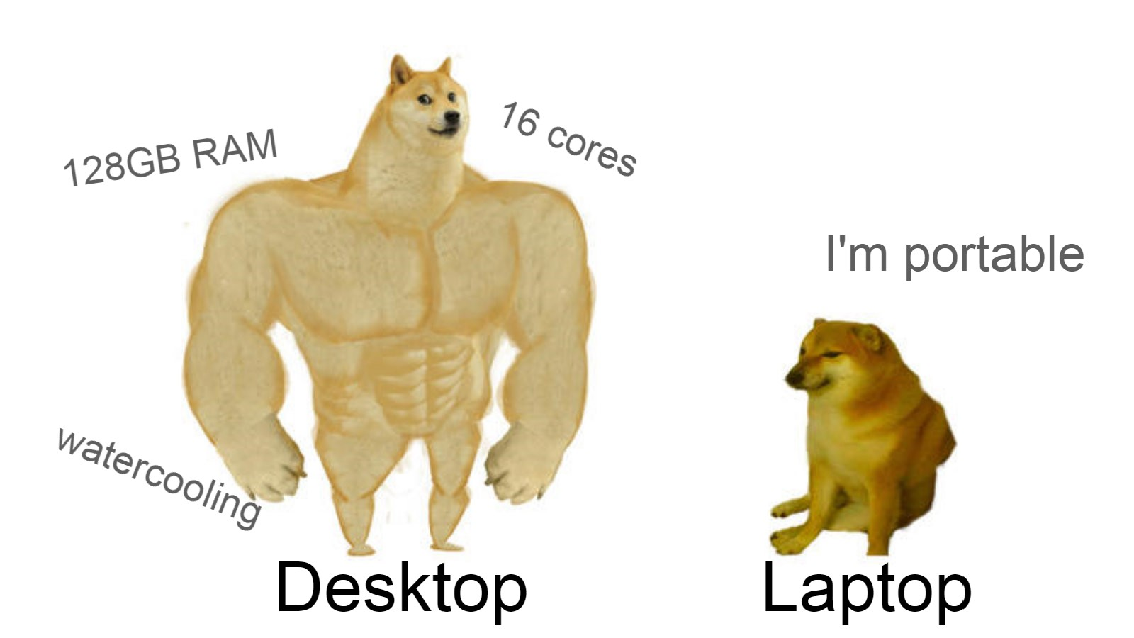 PC vs Laptop